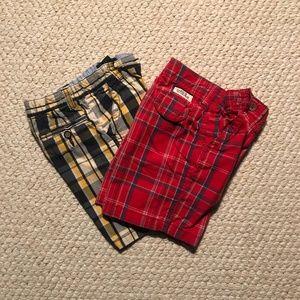 Children's Place Plaid Shorts